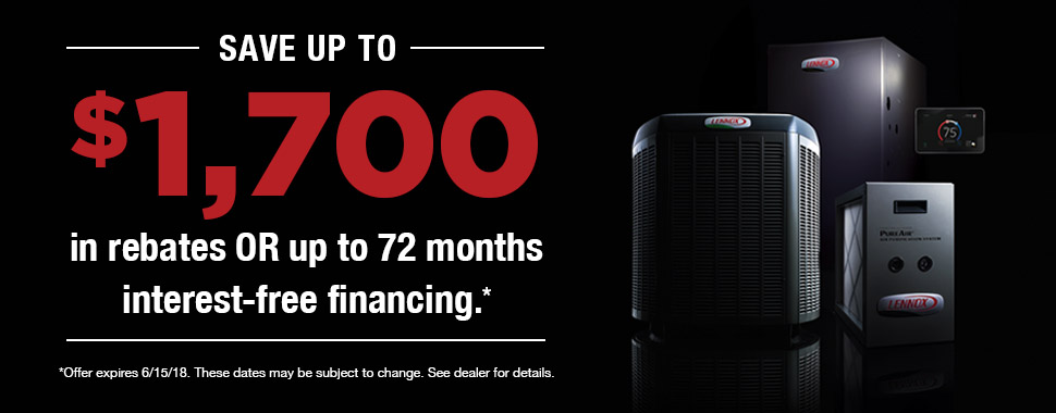 Save up to $1,700 in Rebates or up to 72 months interest-free financing
